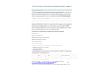 Xiangrun - Model XR2006 - M - Activated Alumina Impregnated Media with Potassium Permanganate  Brochure