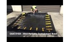 How to Set Up a Medium Sized Portable Containment Bund Video