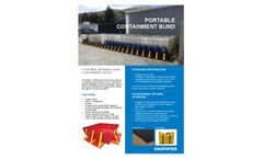 Chatoyer - Portable Containment Bunds Brochure