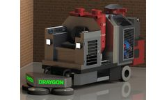 Draygon - Model RGP57 118HP - Dry Rider Grinder Polisher with HEPA Filtration