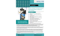 Malcam - Model MDS-6020 - Online Microwave Moisture Measurement Analyzer Brochure