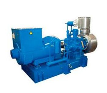 Enerset - Model 100ST - Generator with Steam Turbine