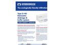 Model D-HD - Rainwater Drainage & Buffer System Brochure