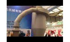 PET-Horizontal dewatering machine Video