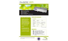 Yeti-Autonomous Air & Surfaces Purification System Brochure