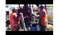 Sonic Sample of Conglomerate Gravels Video