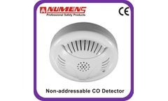 Numens - Model 400-002 - UK standard 2 wire conventional CO gas detector factory price