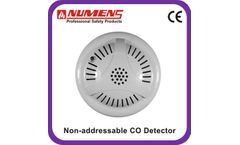 Numens - Model 400-003 - EN and UL approved 12/24V 4-Wire carbon monoxide CO gas sensor from chinese manufacture