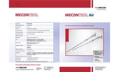 McON - Portable Air Flow Measurement System Brochure