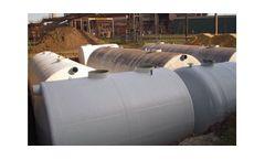 Fibreglass Reinforced Polyester Tanks (FRP)