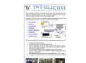 TWT - Chemical-Physical Systems for Selective Removal of Pollutants Brochure