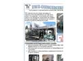 TWT-Concentra - Low Energy Consumption Evaporator-Concentrators Plant Brochure