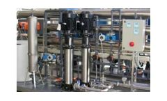 Model TWT-Revo - Desalination Plant