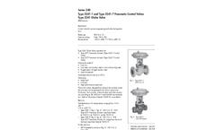 Model 3241 - Globe Control Valve Brochure