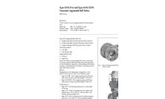 Model 3310 - Segmented Ball Valve Brochure