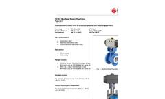 Model 62.7 - Light Duty Rotary Plug Control Valve Brochure