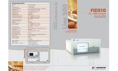 Argon - Model DID - Gas Chromatograph Analyser Brochure