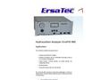 smartFID - Model 900 - Hydrocarbon Analyzer