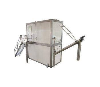 REŠETILOVS - Model 15 up to 760 m3/hour - Fine Mechanical Treatment Plant