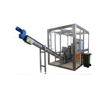 REŠETILOVS - Model 70 up to 420 kg - Sludge Dewatering Plant with Multidisc Screw Conveyor