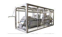REŠETILOVS - Model 500 up to 1400 kg - Sludge Dewatering Plant with Belt Filter Press