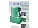 JRI - Model F-Series - Cleaning Systems - Brochure