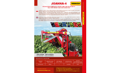 Weremczuk - Model Joanna-4 - Half-Row Currant and Berry Harvester - Brochure