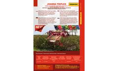 Joanna Triplex - Currant and Berry Harvester - Brochure