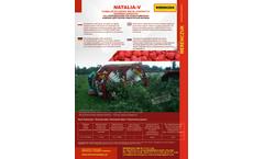 Weremczuk - Model NATALIA-V - Raspberry Harvester - Brochure