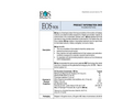 EOS - Model VOS - Thixotropic (Shear-Thinning) Emulsified Vegetable Oil (EVO) - Datasheet