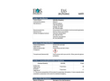 EAS (Dry Powder) - Material Safety Datasheet