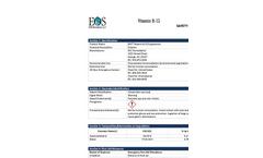 EOS Vitamin B‐12 Supplement - Material Safety Datasheet