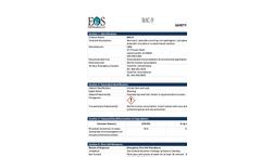 BAC‐9 - Material Safety Datasheet