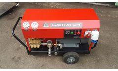Cavitator - Model 2041 E - Underwater Surface Cleaner System