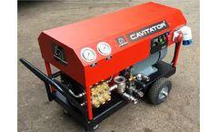 Cavitator - Model 2041 B - Underwater Surface Cleaner System