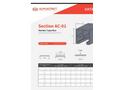 Alphastrut Section AC-01 - Datasheet