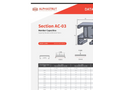 Alphastrut Section AC-03 - Datasheet