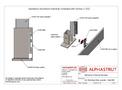 Alphastrut External Handrail Kick Plate/Base Plate Assembly - 003 - Datasheet