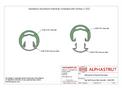 Alphastrut External Handrail Top Rail/Closure Strip Assembly - 004 - Datasheet