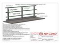 Alphastrut External Handrail Layout - 001 - Datasheet