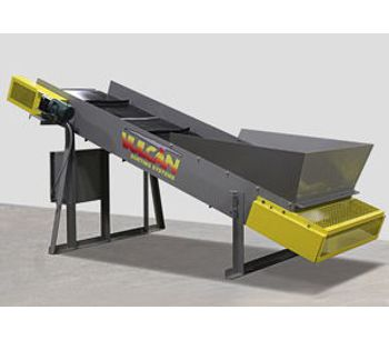 Vulcan - 12′ Incline Feed Conveyor