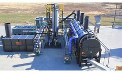 Vulcan Drying Systems - Model 5 ton - Indirect Fired Thermal Desorption Unit With Vapor Recovery Unit