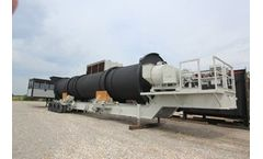 Vulcan Drying Systems - Model Direct Fired Portable - Thermal Desorption Plant