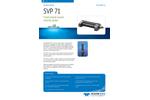 Teledyne - Model SVP 71 - Fixed Mount Sound Velocity Probes Brochure