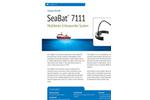 SeaBat - Model 7111 - Depth Sounder - Brochure