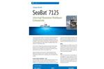 SeaBat - Model 7125 - Multibeam Echo Sounder- Brochure