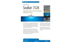 SeaBat - Model 7128 - Forward-Looking Multibeam Echosounder Brochure