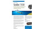 SeaBat - Model IDH T20/50-R - Ultrahigh Resolution Multibeam Echosounder Survey System Brochure