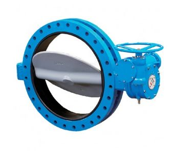 Model UD Series - Hard-Seated Butterfly Valve
