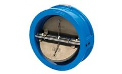 Model EH Series - Dual Plate Wafer Check Valve